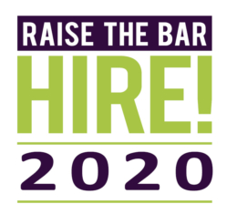 Raise The Bar HIRE! 2020 logo