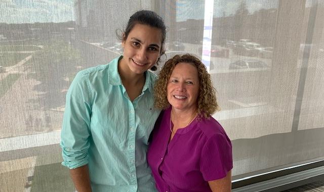 Kathy Muhr and Christina Scott
