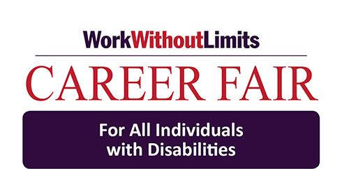 career fair for all individuals with disabilities logo