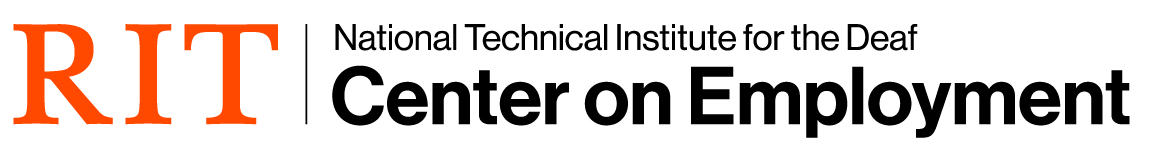 RIT National Technical Institute for the Deaf logo